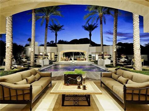 Backyard Day Scottsdale Estate Of The Day 11 5 Million Gorgeous Mansion In