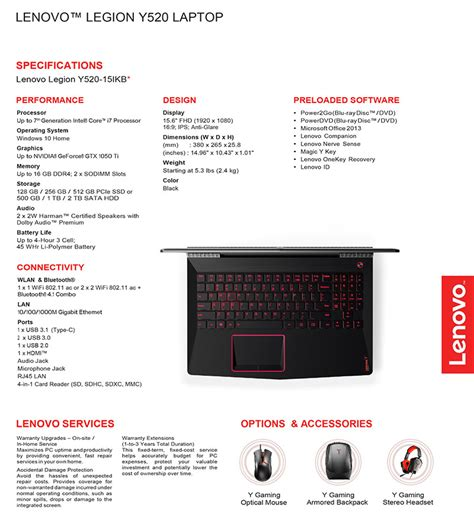 Harga Lenovo Legion Y520 I7 lenovo gunakan nama legion untuk jajaran notebook gaming