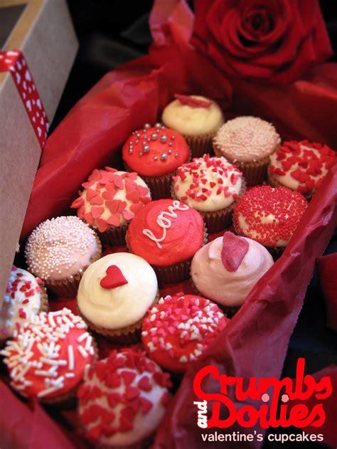 valentines day muffins valentines crumbs doilies news
