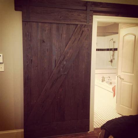Barn Door Ideas For Bathroom by Bathroom Barn Door Home Projects Diy