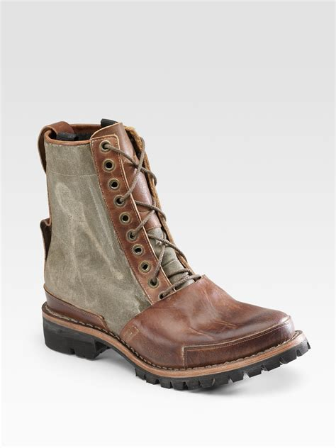 timberlands boots timberland tackhead winter boots in brown for light