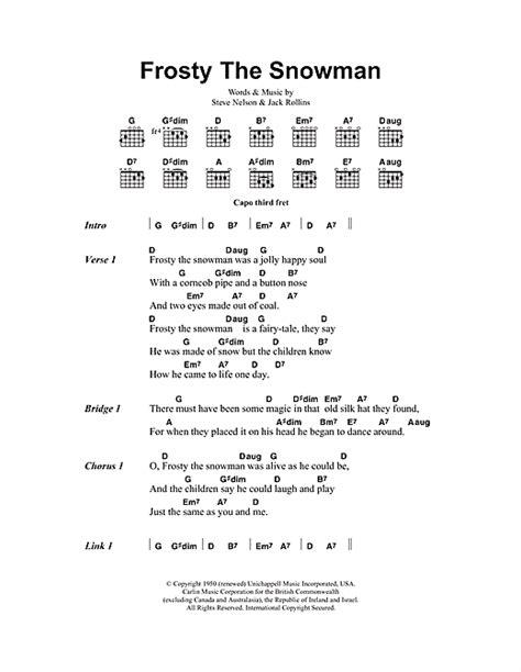 printable lyrics for frosty the snowman frosty the snowman song printable new calendar template site