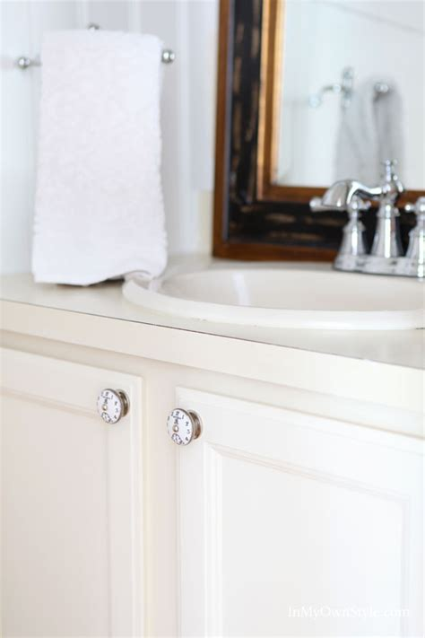 Table Bathroom Vanity Sink Cabinet Makeover In My Own Style