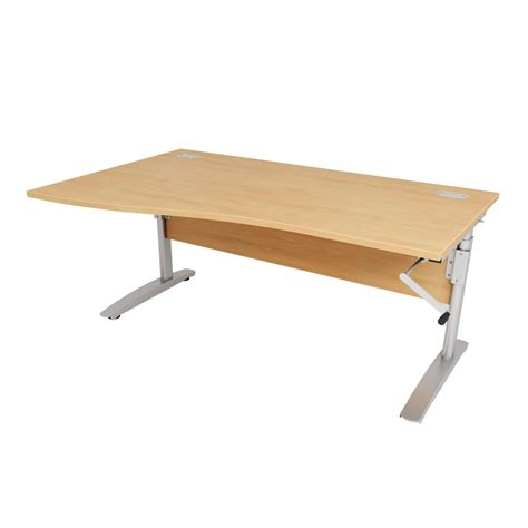 height adjustable office desk dorset office furniture seating desks reception furniture height adjustable wave desk