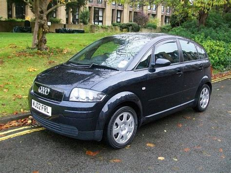 Audi A2 For Sale by Used 2002 Audi A2 Hatchback Blue Edition 1 4 Tdi 5dr