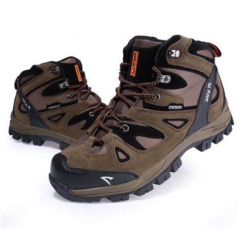Sepatu Boot Sepatu Gunung Trekking Snta 423 Brown Yellow jual sepatu gunung hiking boot outdoor snta 463 brown orange okebuy