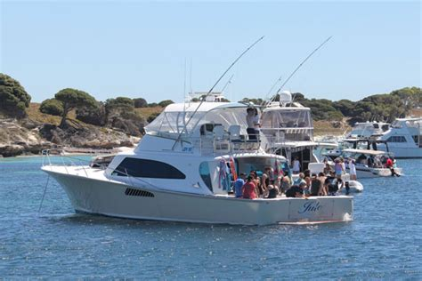 charter boats swan river perth jude luxury perth boat charters boat hire rottnest