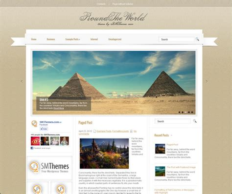 Free Html Templates For Travel Websites