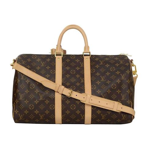 Lv Bandouliere Ada No Seri louis vuitton monogram keepall bandouliere 45 for sale at 1stdibs