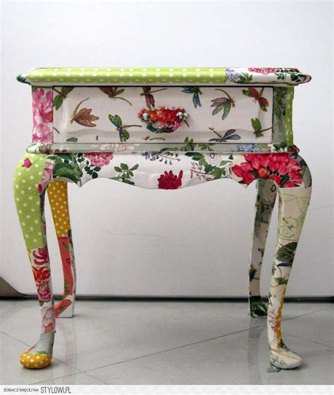 Decoupage Modge Podge - modge podge furniture i will never see tables or chairs
