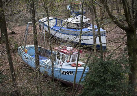 old boat in bristol abandoned fishing boats wash up in bristol s leigh woods