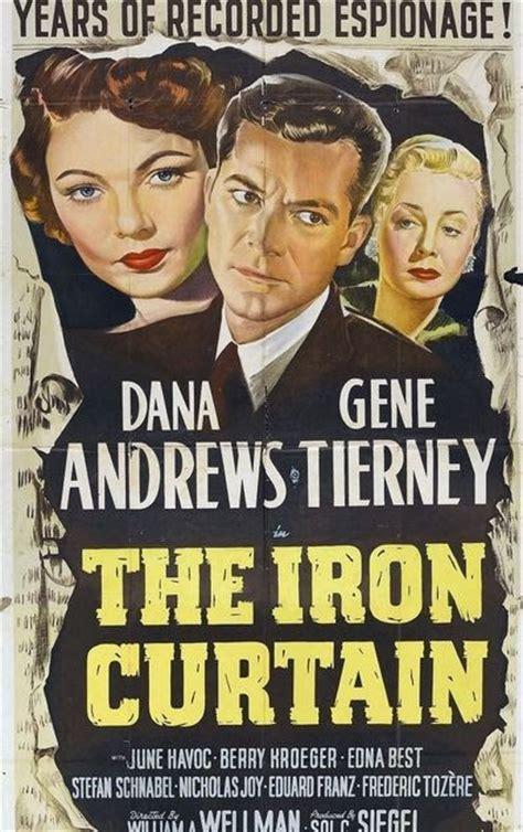who said iron curtain gene tierney movie page the iron curtain 1948