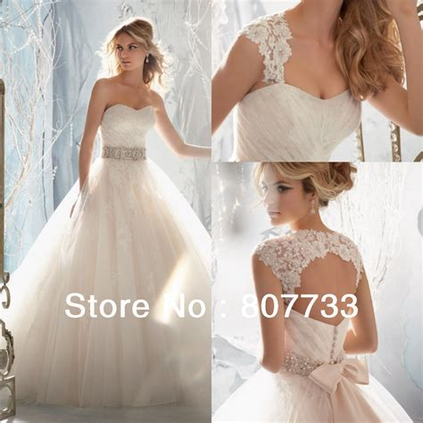wedding dress beaded straps jmw091 stylish with detachable straps beaded a line bridal