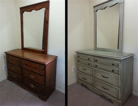 Painting Bedroom Furniture Before And After How To Paint Old Furniture Mybktouch Com