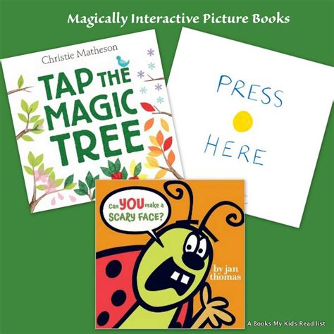 interactive picture books tap the magic tree books my read