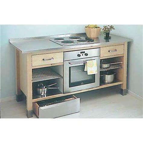 meuble de cuisine ind駱endant meuble de cuisine pour plaque encastrable cuisine en image