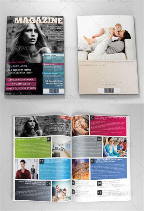 34 High Quality Psd Indesign Magazine Templates Web Photoshop Magazine Template