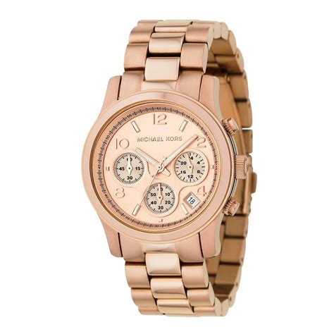 michael kors watches gold plated bracelet