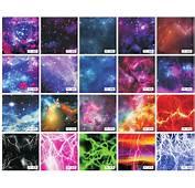 Galaxy Vinyl  Starry Sky Lightning Car Wrap