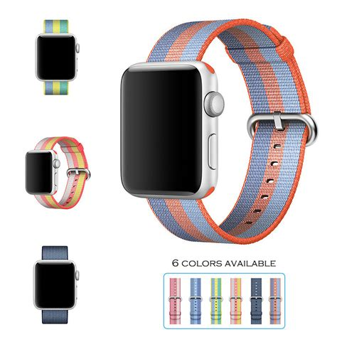New Color Apple Woven Band Iwatch Series 1 2 3 urvoi 2017 band for apple series 1 2 woven