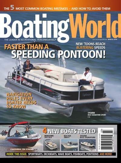 boating magazine boating world magazine subscription discount magazines