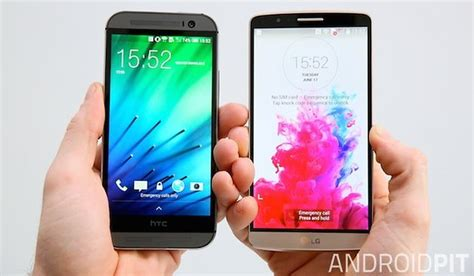 dioda led lg g3s lg g3 vs htc one m8 the beast shoot out androidpit
