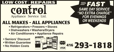 a same day appliance repair kitchenaid appliance repair control appliance service ltd opening hours 271 silver