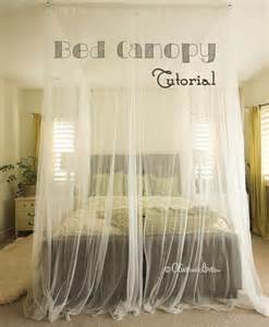 Ideas To Hang Curtains Inspiration Diy Canopy Bed Diy Ceiling Mounted Bed Canopy Cotcozy