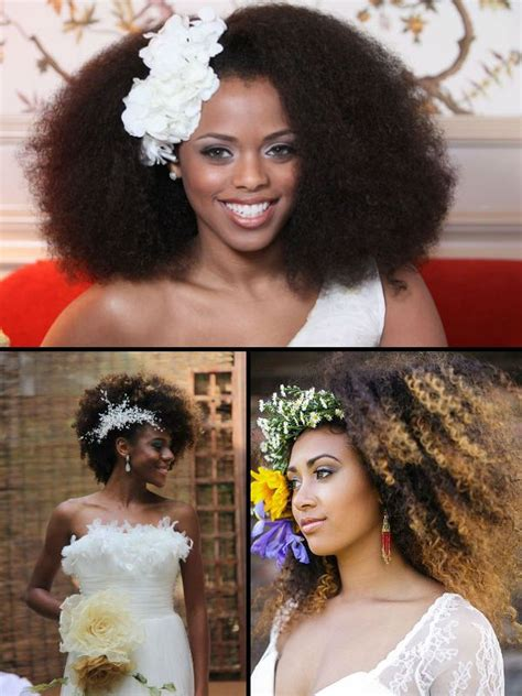 7 superb hair bridal hairstyles for summer weddings cheveux naturels afro et coiffures