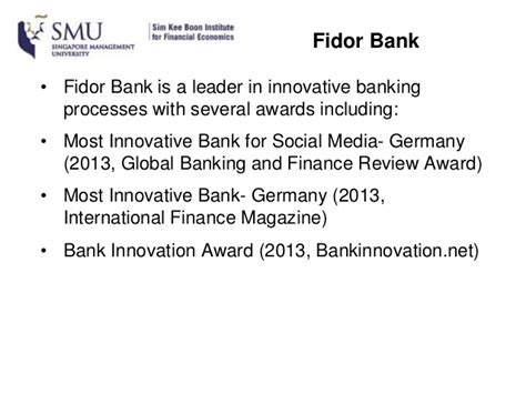 fidor bank germany digital disruptions in finance