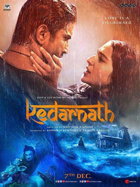 actress of kedarnath poster of kedarnath movie stars sushant singh rajput and