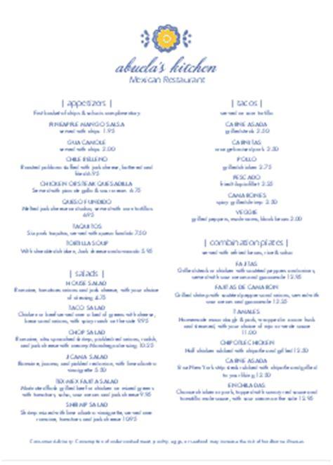 spanish cuisine menu templates musthavemenus 14 found