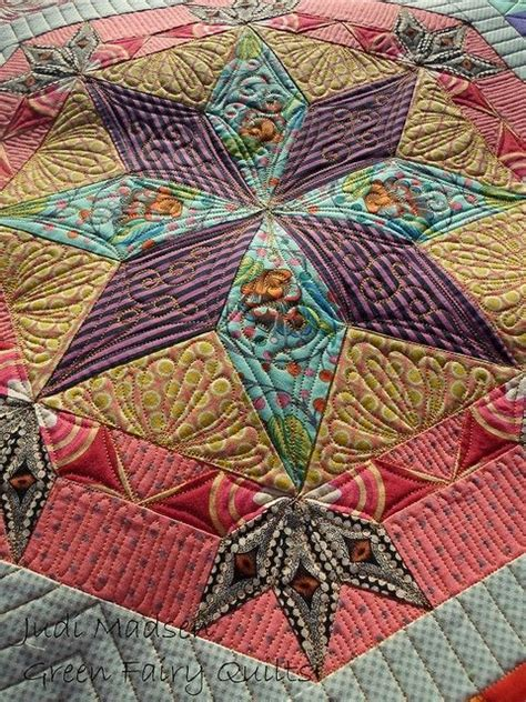 Judi Madsen Quilts by Beautiful The Challenge And Fabrics On