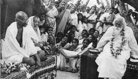 biography of mahatma gandhi in bangla rabindranath tagore gitanjali the culturium