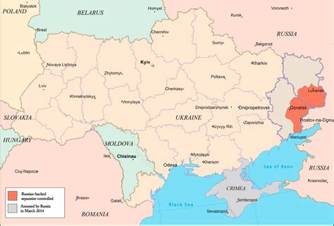 russia ukraine conflict maps the us is providing ukraine with a radar system that could