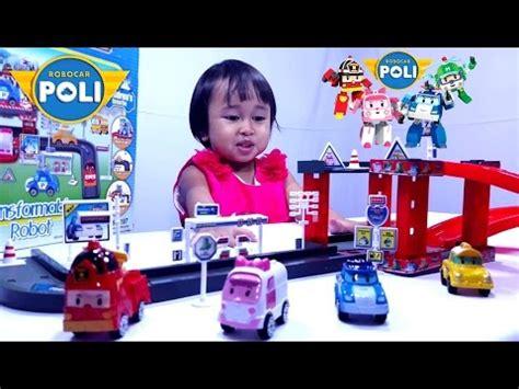 film anak robocar poli mainan anak mobil mobilan robocar poli transformable