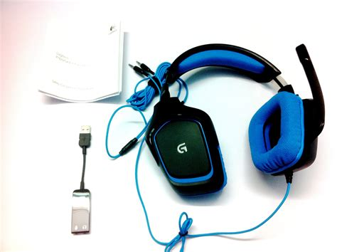 Headphone Headset Logitech G430 Digital Gaming Headset logitech g430 gaming headset unboxing and overview india