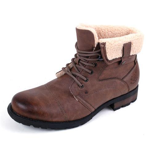 mens sheepskin boots mens faux sheepskin slipper boots