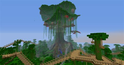 Minecraft Tree House by Cool Tree Houses In Minecraft Ideas Design 611301 Design Ideas Minecraft