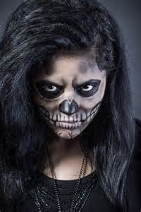 Addicted To Decorating Blog Halloween Makeup Inspirations Women Skull Effect Body