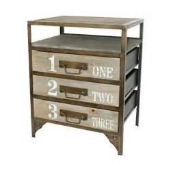 Steel Nightstand Pin By Held On Home