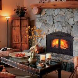 Reading Rock Fireplace by Wood Reading Rock