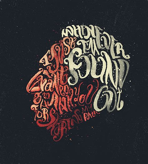 best tutorial typography typographic portraits by peter strain