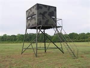 Atascosa Blinds 10x10 Tower Deer Hunting Blinds Atascosa Wildlife Supply