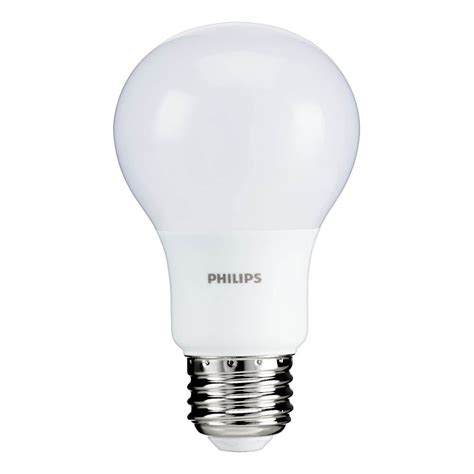 Lu Led Philips Lumen philips 5 5w a19 40w replacement 450 lumen soft white led light bulb 12 pack ebay