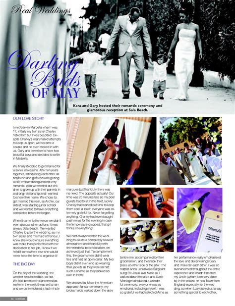 Hochzeit Artikel by Press Magazine Articles Wedding Photographer