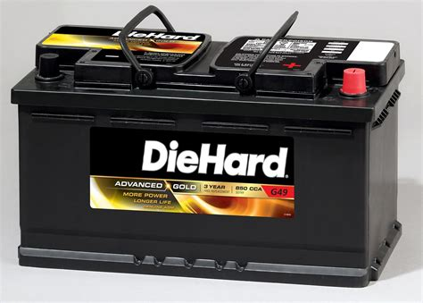 DieHard Gold AGM Automotive Battery   Group Size EP 49