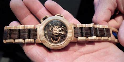 Jam Tangan Kayu Rantai Kayu wow arloji kayu buatan pemuda kulonprogo tembus eropa 187 timlo net