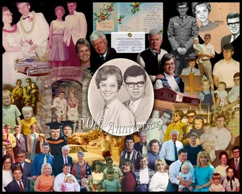Wedding Anniversary Collage Ideas by Photo Collage 25th Anniversary Collage Gift Ideas For