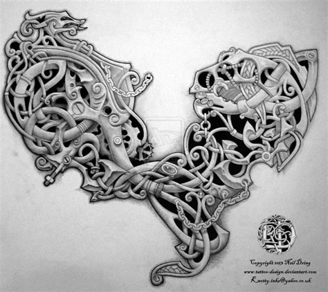 celtic art tattoo designs celtic steunk by design on deviantart